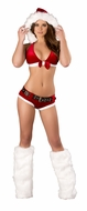 Santa's Little HoHoHo, Christmas Outfits, Stripper Wear, Bedroom Christmas Costume