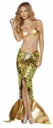 Sea Siren Costume, Mermaid Costume, Roma Costume 4530