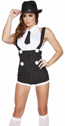 Sexy Gangster Costumes - Gangster Girl and Female Gangster Costumes