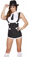 Mobster Mama Costume, Gnagster Costumes for Women, Gangster Costume 4589