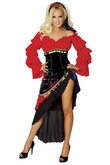 Sexy Gypsy Costume from Bridget by Roma, Adult Women Gypsy Costume
