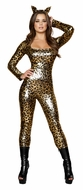 Animal Costume, Leopard Print Catsuit, Sexy Leopard Costume