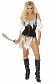 Sexy Pirate Costume from Bridget by Roma, Women Pirate Costume, Roma BR10