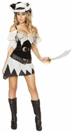Sexy Shipwrecked Pirate Costume, Pirate Costume, Adult Pirate Girl Costume,