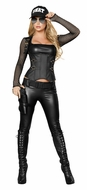 Sexy Swat Agent, Police Woman Costume, Swat Costume for Women