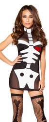Skeleton Costume, Skeleton Hottie Costume, Skeleton Hottie 10100