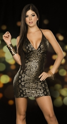Snake Skin Mini Dress, Sexy Snake Skin Mini Dress, Clubbing Dresses