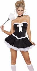 French Maid Costume, Sultry French Maid Costume, Maid Halloween Costumes