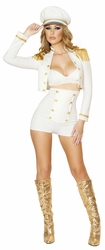 Sultry Sailor Babe, Women Sailor Costume, Deluxe Sailor Costume, Roma Sailor Costume 4521