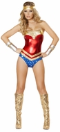 Superhero Hottie Costume, Costume Hero Super Woman, Super Woman Halloween Costume, Super Woman