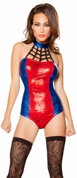Superhero Hottie Costume, Super Heroine Costume, Spider Woman Costume
