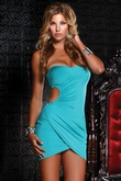 Clubwear, Party Dress, Strapless Mini Dress