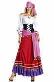 Tempting Gypsy Costume, Gypsy Costume for Women, Inexpensive Gypsy Costume