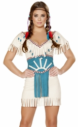 Indian Costume 4708, Tribal Babe 4708, Native American Costume