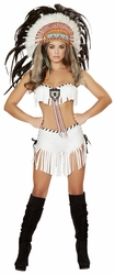 Tribal Princess, Indian Princess Costume, Indian Top and Shorts
