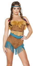 Tribal Vixen Costume, Tribal Vixen 4704, Native American Costume