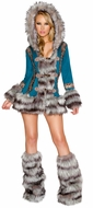 Turquoise Eskimo Costume, Eskimo Dress, New Eskimo Costume