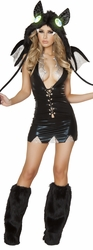 Vampire Bat Costume, Bat Costume, Halloween Bat Costume for Women, J Valentine CA115