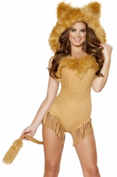 Lion Costume, Vicious Lioness 4710, Lion Animal Costume, Furry Animal Costume