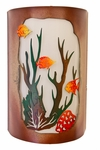 Coral Reef Sconce-Multi Colored