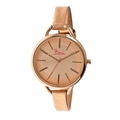 Boum Bm1803 Champagne Ladies Watch