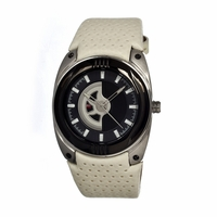 Dfactory Dfi021ybw White Label Mens Watch