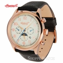 Ingersoll IN1205RCR Union II Mens Automatic Leather Watch