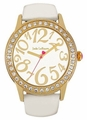 White-Gold Large Face Watch Jade LeBaum JB202757G