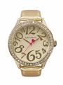 Gold Leather Band Watch Jade LeBaum JB202760G