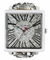 Jade LeBaum Ladies JB202872G Grey Square Face Fashion Watch