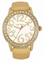 Jade LeBaum Womens JB202866G Gold Tone Quartz Fashion Watch