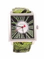 Jade LeBaum Womens JB202874G Green Square Face Fashion Watch