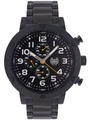 Kronwerk AQ202792G Black Bracelet Large Face Multifunction Mens Watch