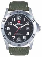 Swiss Mountaineer SM8010 Easy Read Dial Date Display Mens Sport Watch