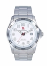 Swiss Mountaineer SM8011 Silver Tone Stainless Steel Bracelet Mens Watch