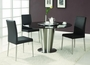 Chintaly Imports Dawn 5 Piece Marble Dining Set