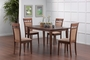Coaster 5 Piece Dining Room Set w/ Cushion Chairs