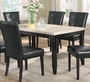 Coaster Anisa Collection Dining Room Table