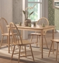 Coaster Damen Dining Room Table in Natural Finish