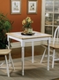 Coaster Damen Small Square Dining Table with Tile Top