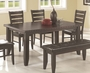 Coaster Dining Room Table in Dark Cappuccino