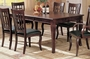 "Coaster Newhouse Cherry Dining Room Table w/ 18"" Leaf"