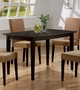 Coaster Walnut Mix & Match Rectangular Dining Table