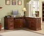 Golden Oak Augusta Computer L Shaped Desk