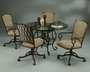 Pastel Atrium 5 Piece Dining Room Set