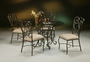 Pastel Magnolia 5 Piece Dining Room Set