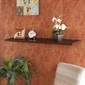 "SEI Aspen Floating Shelf 48"" Espresso"