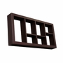 SEI Taylor Display Shelf Espresso 24""