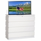 TV Lift Cabinet Prism White