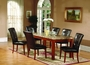 US Furniture 5 Piece Marble Top Dining Set